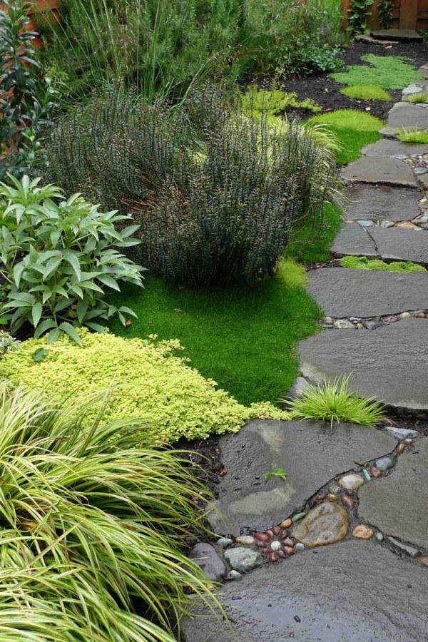 Styled Stone Garden Path