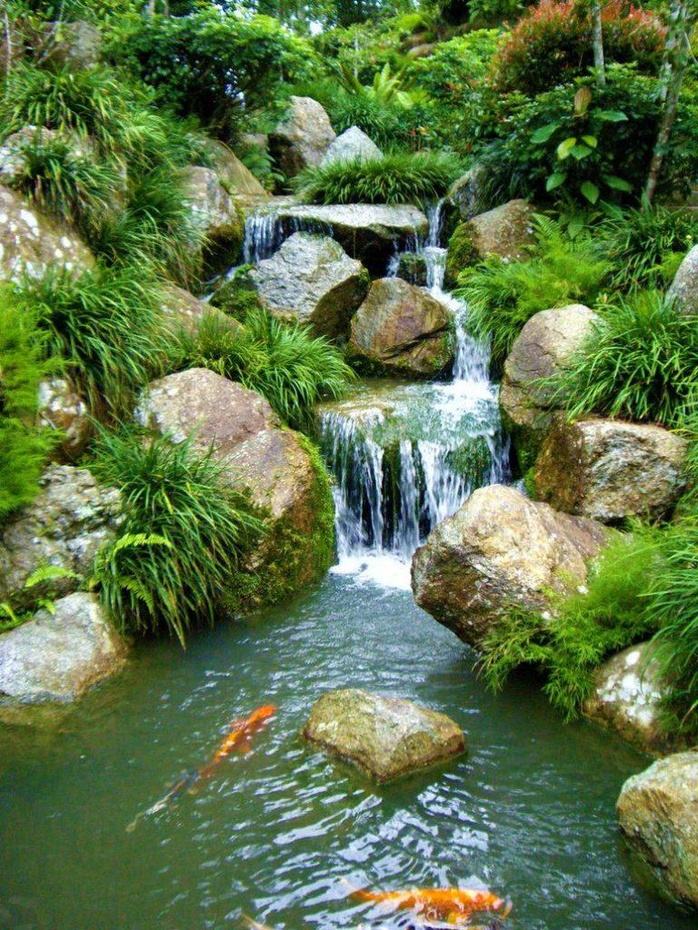 Comfydwelling Com Pond Waterfall Stones Seem A Little Too Big951846794679a935297c5ff21ba5c955