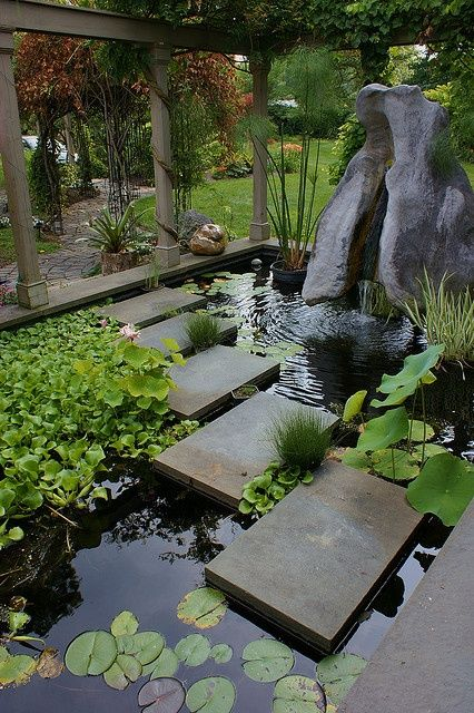 Homesthetics Net 19 Simply Breathtaking Backyard Pond Designs 77f137a941ccd02484e751148784351d
